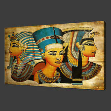 EGYPTIAN ANCIENT PHARAOHS CANVAS WALL ART PRINT PICTURE READY TO HANG