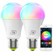 MagicLight Smart Light Bulb, Color Changing, E26 7W (60w Equivalent) - 2 PACK