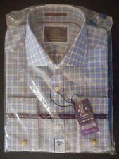 Marks and Spencer Men's Check Regular Cotton Formal Shirts