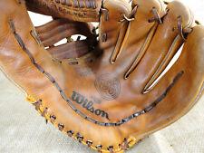 "WILSON A9820 12"" SB Special RHT Leather Baseball Grip Tite Pocket Glove Mitt"