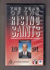 The Year Of The Rising Saints  -   VHS Tape. AFL. 1991