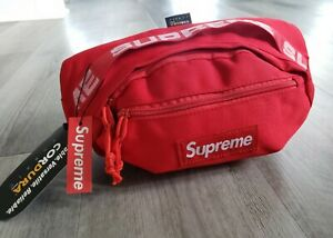Supreme Waist Bag Fanny Pack RED Unisex Men Woman NWT