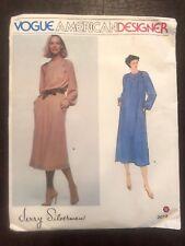 Vogue American Designer Sewing Pattern Jerry Silverman 2073 Dress Pullover UNCUT