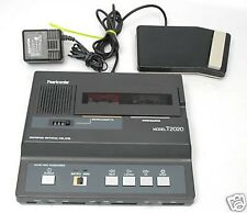 OLYMPUS PEARLCORDER T2020 Microcassette Minicassette Transcriber COMPLETE