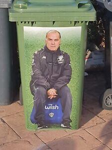 Leeds United Bielsa Bin Stickers