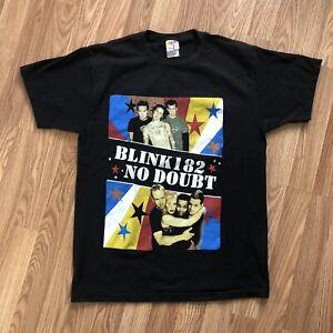 2004 No Doubt Blink 182 Band Shirt Tee Concert