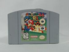SUPER MARIO 64 Nintendo 64 N64 Scratched