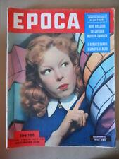 EPOCA n°131 1953 Carteggio tra Mussolini e D'Annunzio - Cecile Aubry  [G771]