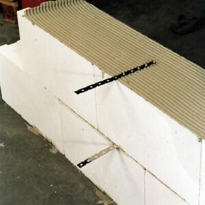 50 St. Mauerverbinder 300 x 15mm Flachanker Wandanker Anschlußanker Edelstahl A4