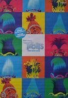 TROLLS - A3 Poster (ca. 42 x 28 cm) - Film Plakat Clippings Sammlung NEU