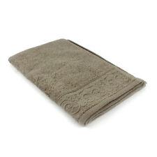 1 Serviettes, draps et gants de salle de bain marron coton