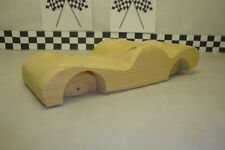 Pinewood Derby Pre-cut #69L, Low Rider, Use your Imagination Car!