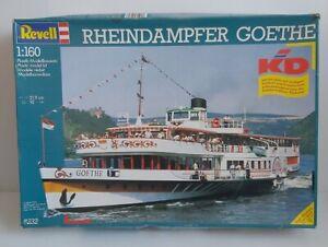 Revell Paddle Steamer Rheindampfer Goethe 1990 Boxed