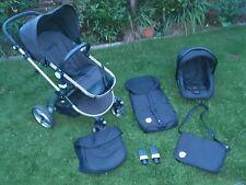 Little Devils 3 in 1 Travel System / Pushchair / Buggy / Car Seat Bag Black