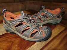 KEEN ARROYO II Brown Waterproof Sandals Walking Vibram Hiking Shoes Men's Size 9
