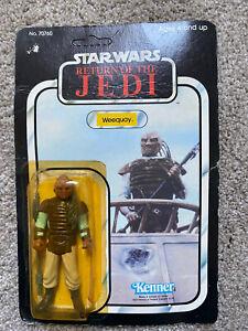 Vintage Star Wars Figure Weequay 1983 ROTJ Original Back