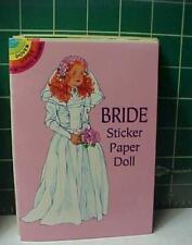 BRIDE STICKER full-color DOVER PAPERDOLL