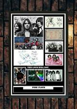 More details for (#207) pink floyd brick in the wall signed a4 photo//framed (reprint) great gift