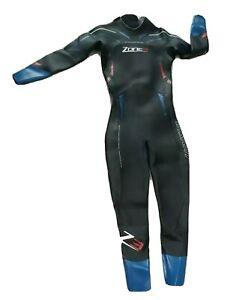 Men's Zone 3 Vision Wetsuit Rubber Surfing Bodyboarding Long Lightweight Medium