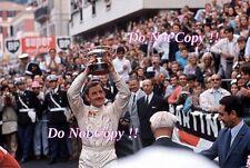Graham Hill Gold Leaf Team Lotus 49B Winner Monaco Grand Prix 1969 Photograph 6