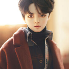 """1/3 BJD SD Gentle Boy 25.6"""" Doll Collection Figure Make up with Clothes Full Set"""