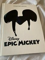 Disney's Epic Mickey Collector's Edition Hardcover Strategy Guide HC Book