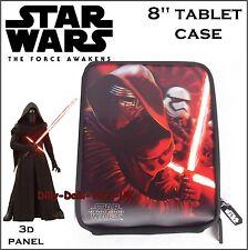 """Funda De Star Wars 8"""" Tablet Adecuado para iPad Mini Amazon Fire Kylo Ren Nuevo"""