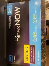 Abbott BinaxNOW Rapid Antigen Test- Pack Of 2 Tests