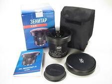 """Circular """"Fish Eye"""" MC Zenitar 3.5/8mm lens for Canon EOS. NEW!"""