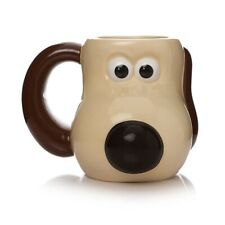 Wallace and Gromit - Gromit Head Shaped Mug