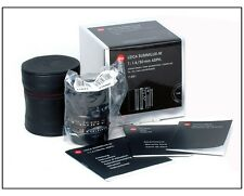 *New* Leica Summilux-M 50mm f/1.4 6 bit Black #11891 M10 M240 M-P