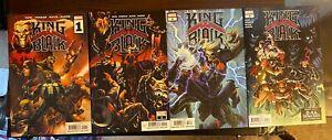 King In Black #1 2 3 4 SET Cover A Ryan Stegman CATES VENOM KNULL 2021