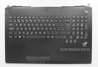 Canadian Keyboard for Asus Rog G750JW G750JM G750JH G750JX, Top case + Touchpad