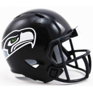 Seattle Seahawks NFL Riddell Pocket Pro Speed Mini Football Helmet