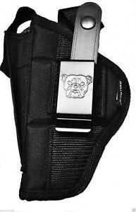 Nylon gun holster for Glock G43X