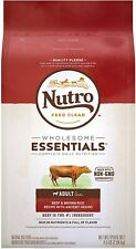 Nutro Adult Natural Dry Dog Food Beef & Brown Rice Recipe
