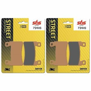 Hyosung GT 250 IR 15 > ON SBS Front Brake Pads Sinter EO QUALITY 734HS