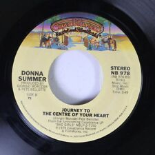 Soul 45 Donna Summer - Journey To The Center Of Your Heart / Hot Stuff On Casabl