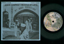 """7"""" ALICE COOPER MUSCLE OF LOVE MINI LP MADE IN USA JUKE BOX LLP #235 WB S 2748"""