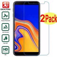 templado vidrio Protector de pantalla para Samsung Galaxy J3 J4 J5 J6 J7 J8 A8