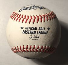 New Britain Rock Cats Signed Team Ball