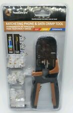 Southwire RJCR-T1K Ratcheting Phone & Data Crimp Tool 15222-2