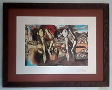 After Salvador Dali, Lithograph Numbered Framed