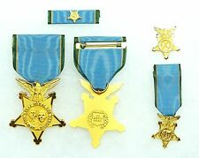 US Department, Agency, Border Patrol Newton-Azrak Heroism Medal, set of 4
