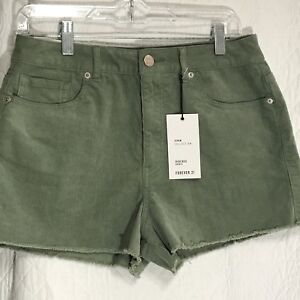 Forever 21 Womens High Rise Shorts Sz 29