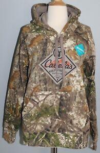 New CABELA'S Ladies Hoodie ZONZ Woodlands Camo S M L Women's Hooded Sweatshirt