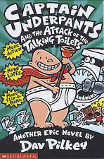 Captain Underpants and the Attack of the Talking Toilets by Dav Pilkey-F065