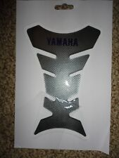 3D Gel Fuel/Gas Tank Pad Protector Decal/Sticker Carbon Look - Fits Yamaha Cycle