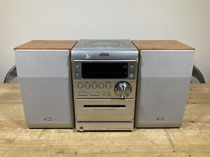 Aiwa XR-EM20 CD/Tape Stereo System Inc Speakers