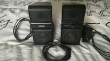 Yamaha NX-50 Speakers NX50 Active Desktop Compact PC Mac Apple Best Desk PAIR